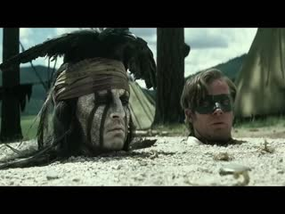 The Lone Ranger - Official  Trailer HD